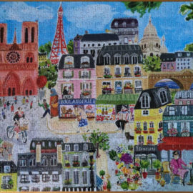 eeBoo puzzle, Paris in a Day