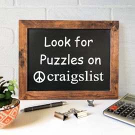 Find jigsaw puzzles on Craigslist