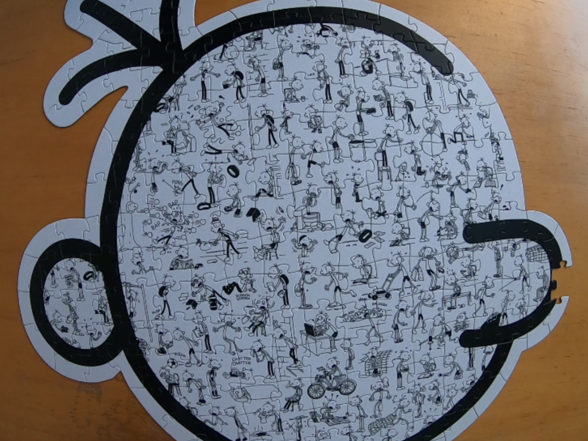Diary Of A Wimpy Kid Puzzle 200 Piece Puzzle Twins