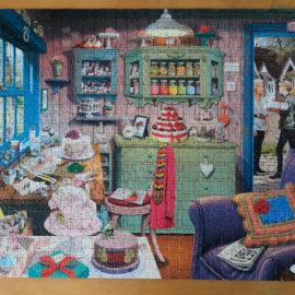 Ravensburger Jigsaw Puzzle, The Cake Shed, 1000pc My Haven Collection