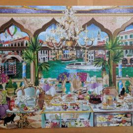 Jumbo Jigsaw Puzzle, Venice La Dolce Vitta, 1000pc jigsaw puzzle