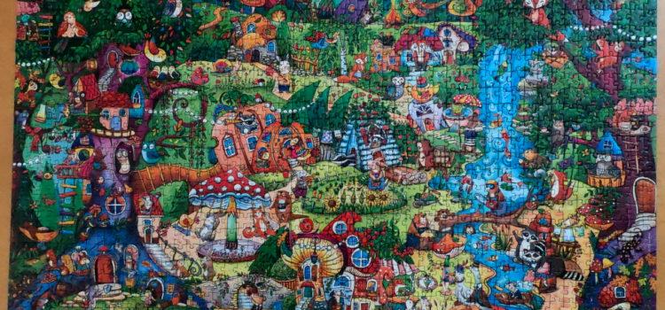 Heye Jigsaw Puzzle, Wonderwoods, 1500 piece jigsaw puzzle