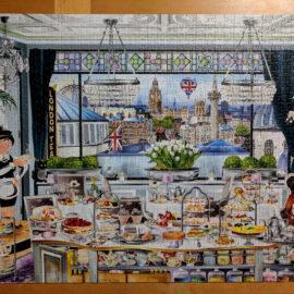 Jumbo Wanderlust Collection, London Tea Party 1000pc