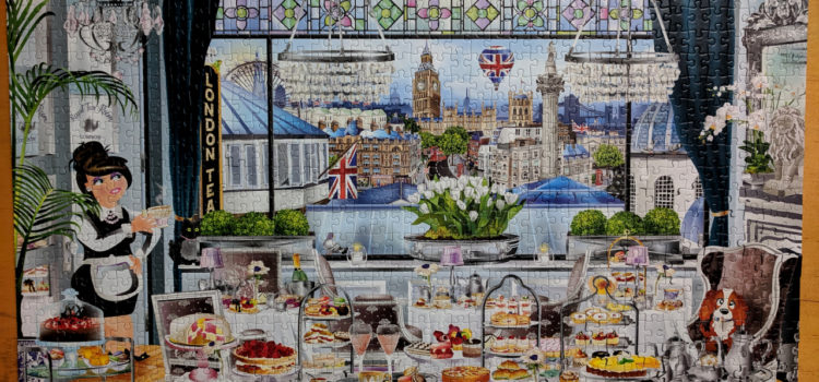 Jumbo Wanderlust Collection, London Tea Party 1000pc