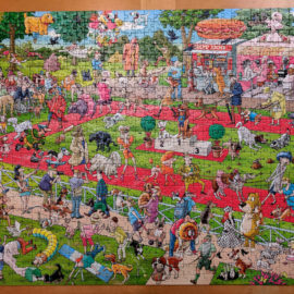1000pc dog jigsaw puzzle, Dog Show