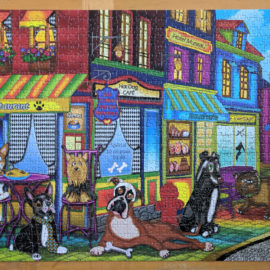 JaCaRou jigsaw puzzle, New Dogs on the Block