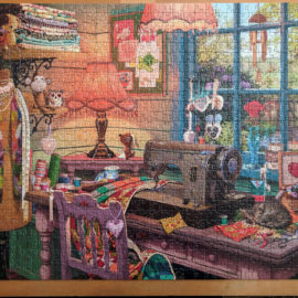 The Sewing Shed Jigsaw Puzzle Review