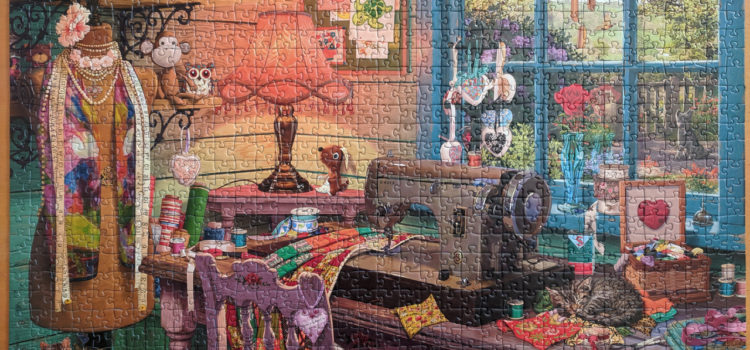 The Sewing Shed jigsaw puzzle