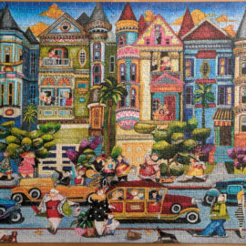 1500 piece jigsaw puzzle, The Painted Ladies
