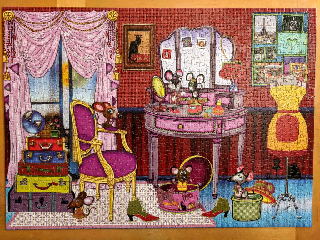 The Spice Mice, JaCaRou 1000pc puzzle