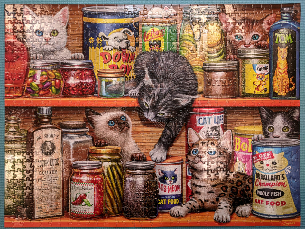 Spice Rack Kittens, 750pc