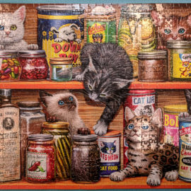Spice Rack Kittens Puzzle 750pc
