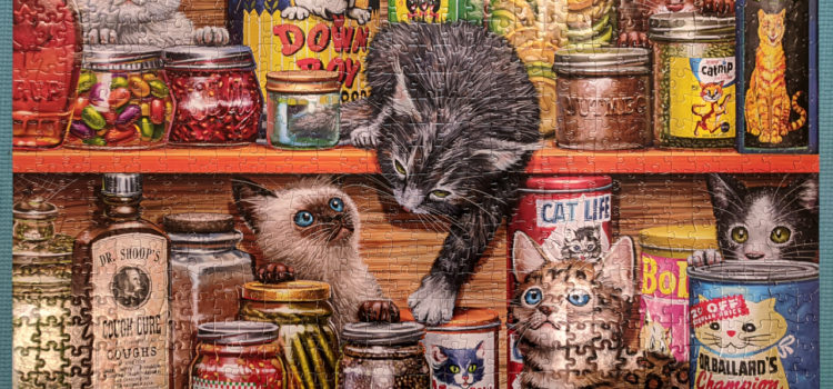 Spice Rack Kittens, 750pc