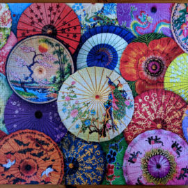 EuroGraphics Asian Oil-Paper Umbrellas | 1000pc Puzzle