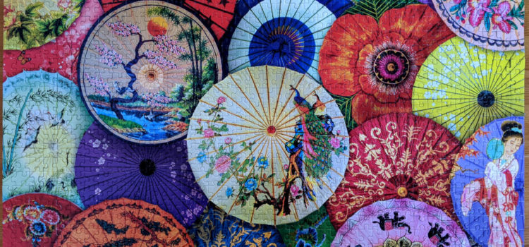 EuroGraphics Asian Oil-Paper Umbrellas, 1000pc