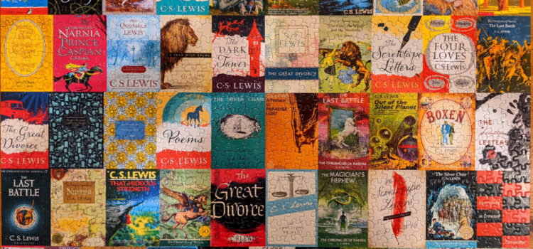 Completed Re-marks CS Lewis Puzzle, 1000 piece