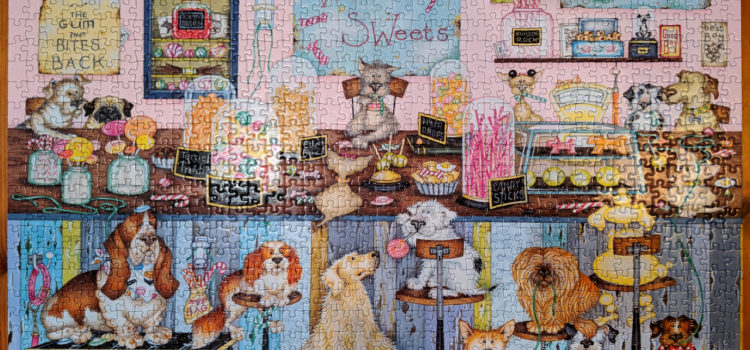 Woofit's Sweet Shop 1000 Piece
