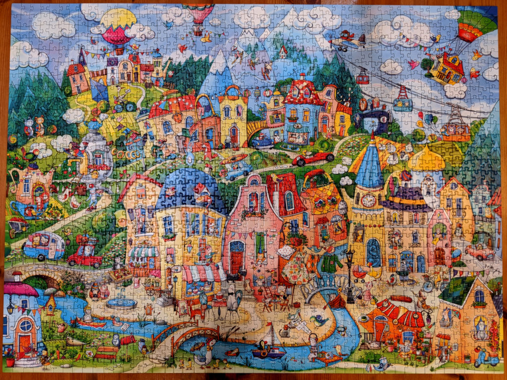 Heye Happytown, 1500pc jigsaw puzzle