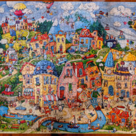 Heye Happytown 1500 Piece Puzzle
