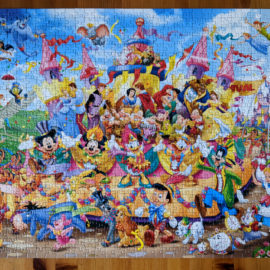 Join in the Parade With Disney Carnival Puzzle