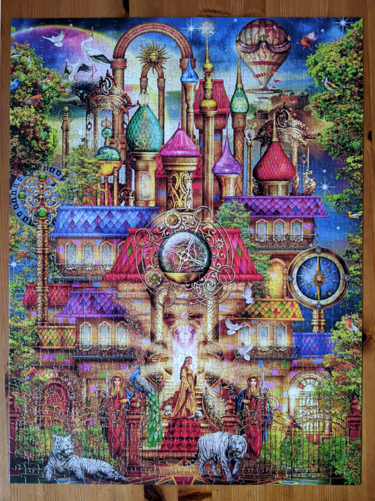 Magic Castle, a 750 piece jigsaw puzzle and part of Majestic Castle Collections from Buffalo Games