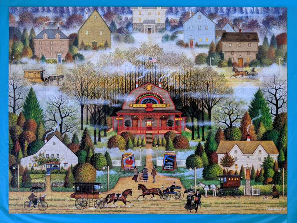 Melodama in the Mist by Charles Wysocki, a 1000 piece puzzle from Buffalo Games