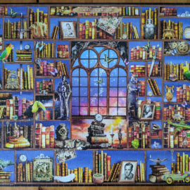 The Imaginarium is a surprisingly challenging 1000 piece puzzle from White Mountain.